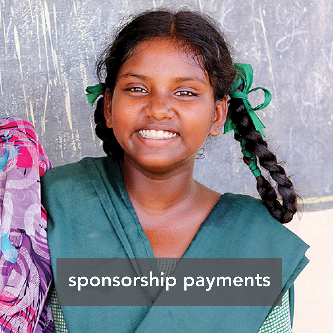 sponsorship payment
